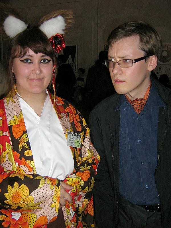 Олеся Ольгерд и Александр Кунин (редакторы журнала Хроники Чедрика)