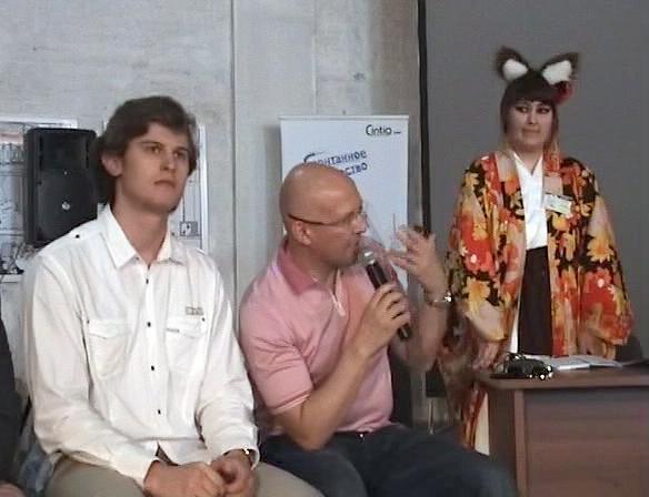 Сегрей Харламов, Михаил Маркоткин, Олеся Ольгерд