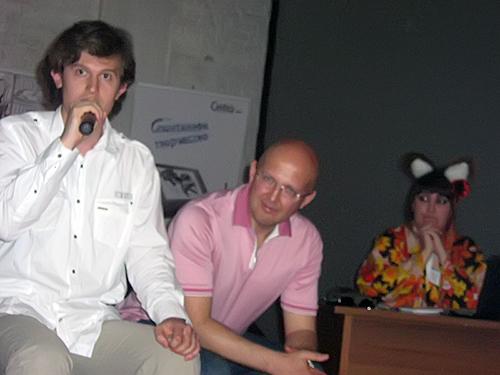 Сергей Харламов, Михаил Маркоткин, Олеся Ольгерд
