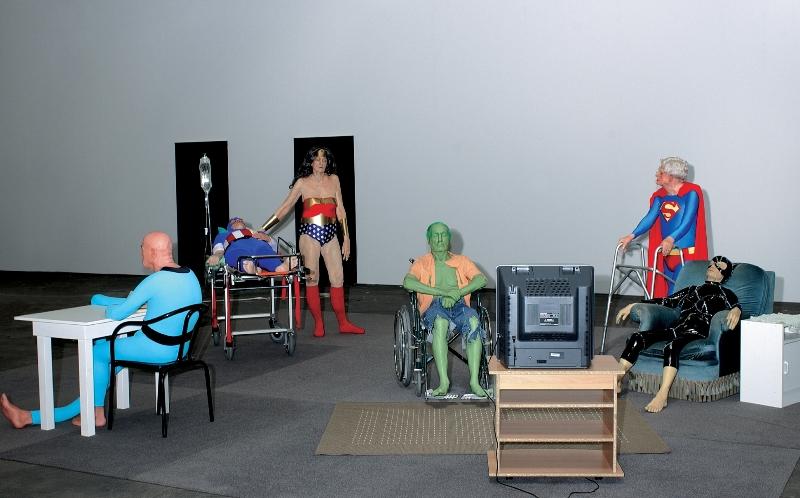 Дом престарелых для супергероев