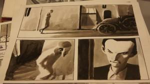 """Оригинальная страница рисованной истории """"Ибикус"""" П. Рабате."""